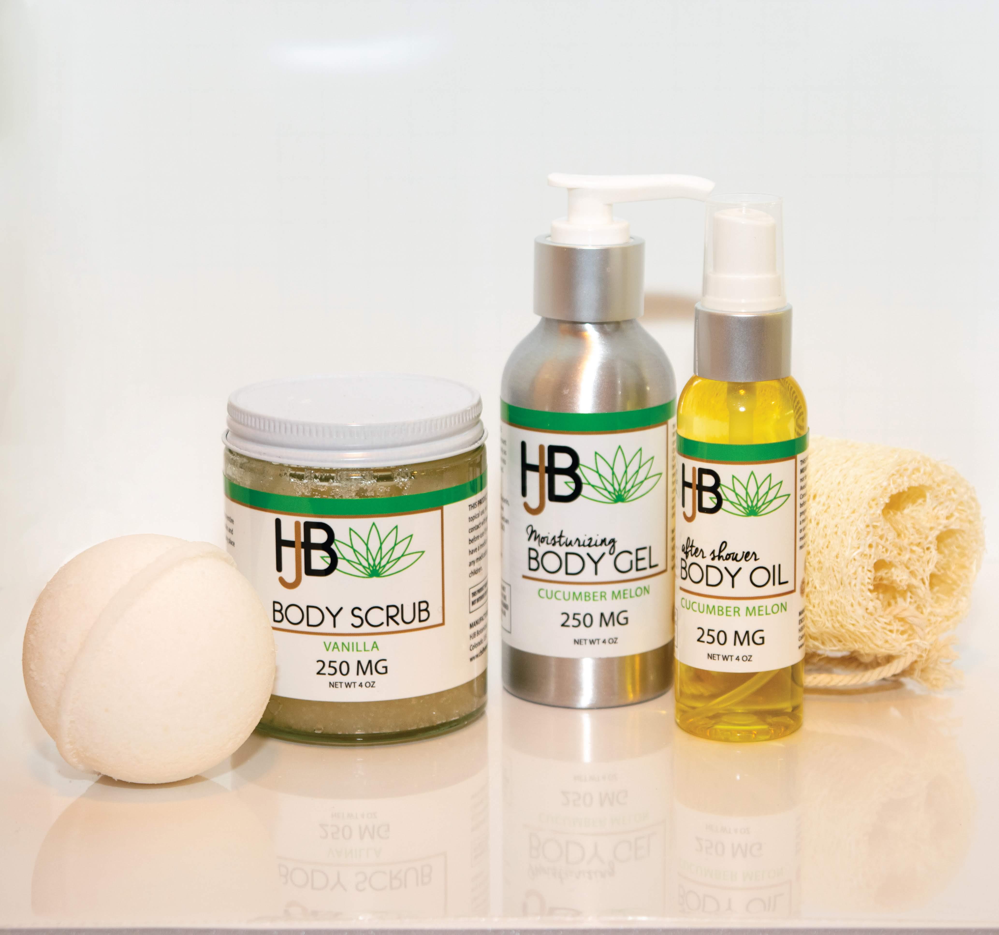 HJB Cucumber Melon Body Oil